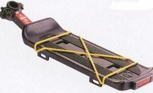 Багажник быстросъёмный  на подседельный штырь, на эксцентрике,  алюминиевый,