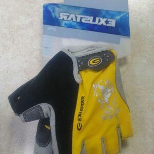 Перчатки Exustar CG430, p. L, XL замшевая ладонь усиленная, с подушечками