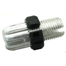 Болт-натяжитель тросика для тормозной ручки М10 алюм.