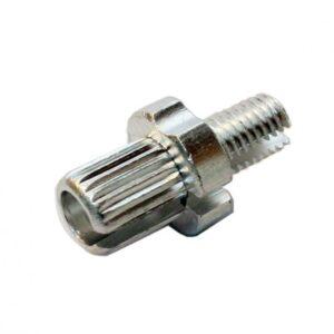 Болт-натяжитель тросика для тормозной ручки.М7 сталь