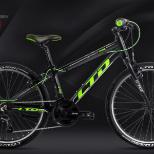 LTD 2020 Bandit 440 Lite чёрно-зелёный
