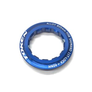 Гайка в кассету 12Т, Al-6061 синяя