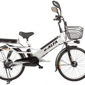 ELTRECO e-ALFA GL 24″ 500Вт, алюм., серый