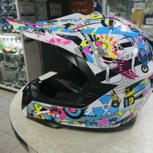 Шлем мото/вело кроссовый HIZER