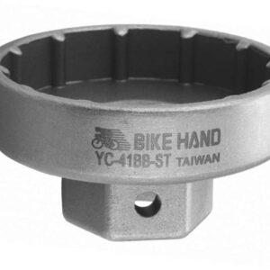 Съемник каретки BikeHand YC-41BB-ST SRAM HollowTech для 12 шлиц. под ключ 19мм или  1/2″