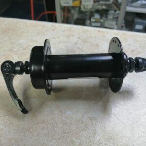 Втулка передняя FAT ДТ 135мм, 36отв, черная, сталь, под эксц.