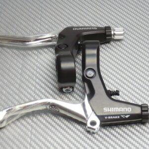 Тормозные ручки Shimano, BL-M421, черн., прав+лев., v-br. (РФ)